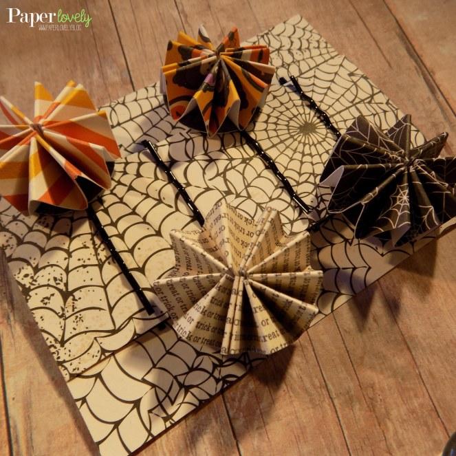 paper rosette clips